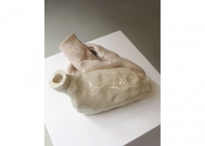 <strong>Absence of Roy</strong> 2010<br>Glazed ceramic 25x25x14cm