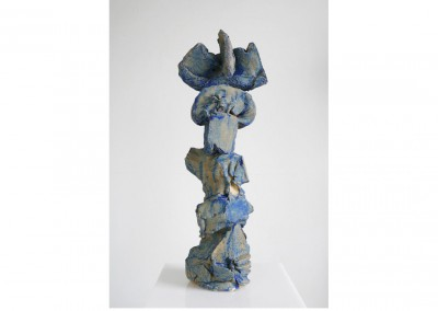 Oh Cognition (Totem)<br>Glazed ceramic / 40x13x13cm / 2014