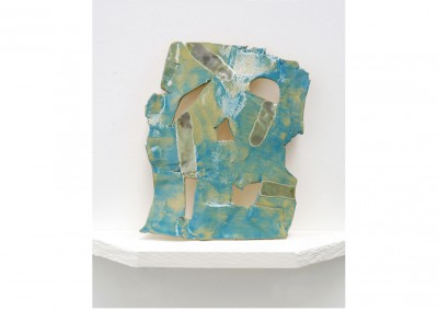 Shield<br>Glazed ceramic / 30x22cm / 2014