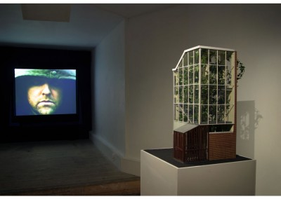<strong>In the Trees</strong> 2004<br>Installation view, Store, London
