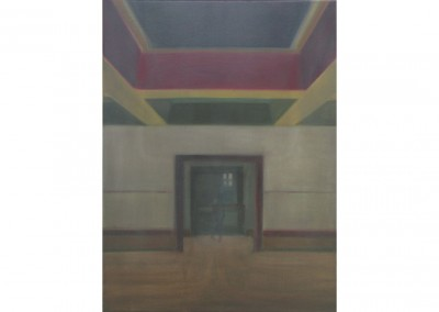 <strong>Kingdom Hall</strong> 2010<br>Oil on linen 80x60cm